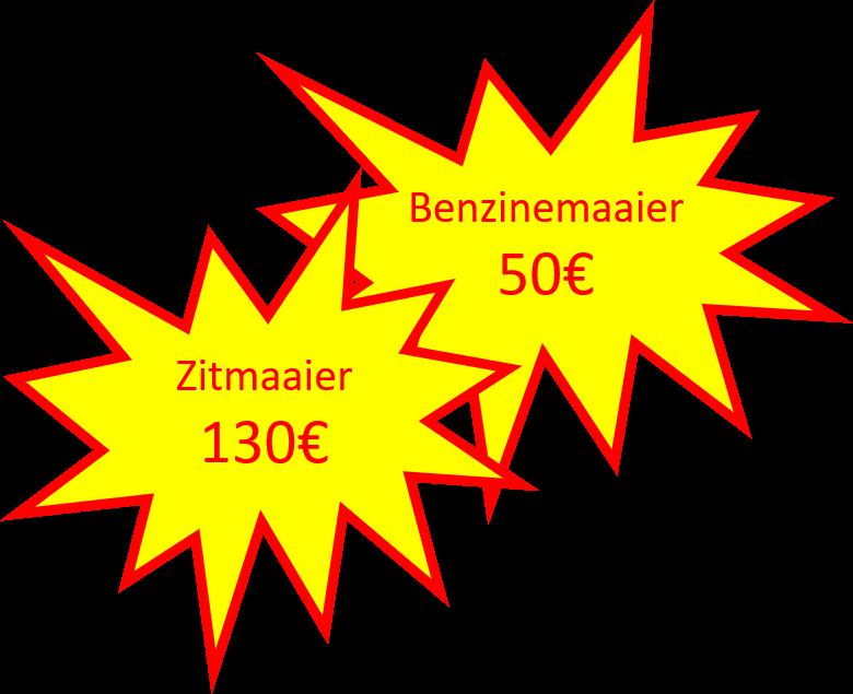 grasmachine onderhoud prijs